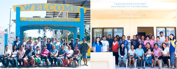 Baseline data and Blue Communities Survey Result validation in case study barangays of Blue Communities – Philippines