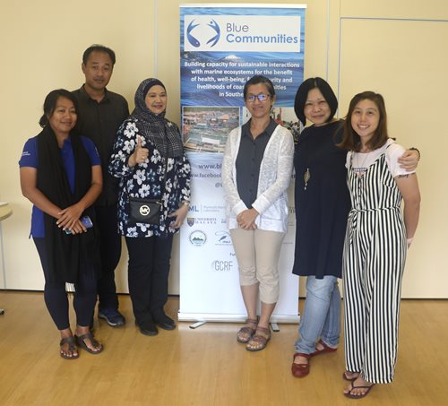 Team Malaysia at the annual meeting in the UK