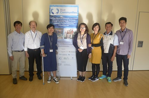 Team Vietnam at the annual meeting in the UK