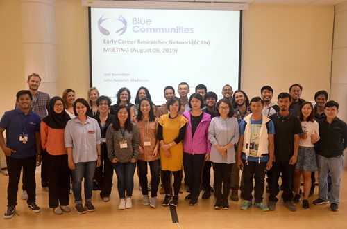 Blue Communities ECRN meeting at the Annual Meeting in Plymouth, UK